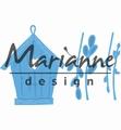 Marianne Design Creatables Willow Cats & Birdhouse LR0515 per stuk