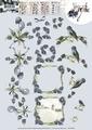Precious Marieke knipvel Blue Grapes CD10939 per vel