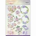 Jeanine's Art Knipvel Vintage Fl. - Romantic Purple CD11044