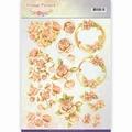 Jeanine's Art Knipvel Vintage Fl. - Romantic Vintage CD11045