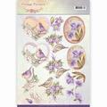 Jeanine's Art Knipvel Vintage Fl. - Pale Violet CD11048