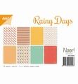 Joy! Crafts Papierset Rainy Days 6011/0565 per stuk