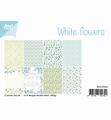 Joy! Crafts Papierset White Flowers 6011/0551