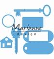 Marianne Design Creatables Key Ring LR0523 per stuk
