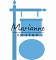 Marianne Design Creatables Sign Post LR0522 per stuk