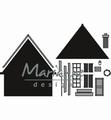 Marianne Design Craftables Build-a-House CR1437 per stuk