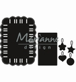 Marianne Design Craftables Ribbon Rectangle CR1436