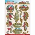 Yvonne Creations knipvel Country Life - Farm House CD11058
