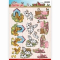 Yvonne Creations knipvel Country Life - Animals CD11060