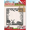 Yvonne Creations Die Country Life - Frame YCD10123