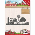 Yvonne Creations Die Country Life - Farm Border YCD10125 per stuk