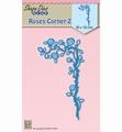 Nellie Snellen Shape Die Roses Corner 2    SDB037 per stuk