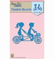 Nellie Snellen Shape Die Tandem Bycicle SDB029 per stuk