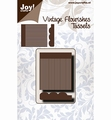 Joy Crafts Snijmal Vintage Flourishes Tassels 6003/0089 per stuk