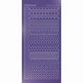 Hobbydots Sticker - Mirror - Purple STDM219 per vel