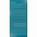Hobbydots Sticker - Mirror - Turquoise STDM21D per vel