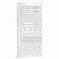 Hobbydots Sticker - Adhesive - White STDA210