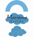Marianne Design Creatables Rainbow & Clouds LR0531