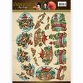 Amy Design knipvel Oriental - Landscapes CD11073