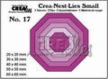 Crea-Nest-Lies Small Achthoek CNLS17