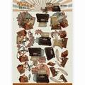 Yvonne Creations knipvel Vintage Objects - Communica CD11107 per vel