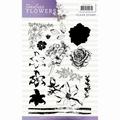 Precious Marieke Clear Stamp Timeless Flowers PMCS10027 per stuk