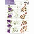 Precious Marieke knipvel Timeless Flowers - Lillies CD11085 per vel