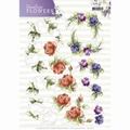 Precious Marieke knipvel Timeless Flowers - Roses CD11082 per vel