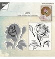 Joy! Crafts Clear Stamp + Snijmal Roos 6004/0026