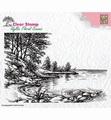 Nellie Snellen Clear Stamp Water Edge IFS006 per stuk