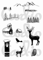 Card-io Clear Stamp Scenery 1   CDCCSTSCE-01