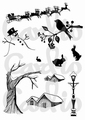Card-io Clear Stamp Scenery 2   CDCCSTSCE-02