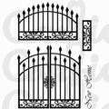 Card-io Clear Stamp Grand Gates CDCCSTGRA-02 per stuk