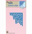 Nellie Snellen Shape Die Leaves Edge SDB041 per stuk