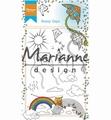 Marianne Design clear stamp Hetty's Sunny Days HT1635