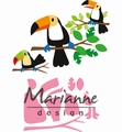Marianne Design Collectables Eline's Toucan COL1457