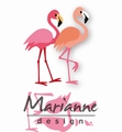 Marianne Design Collectables Eline's Flamingo COL1456