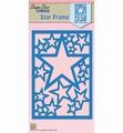 Nellie Snellen Shape Die Star Frame SDB054 per stuk
