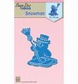 Nellie Snellen Shape Die Snowman SDB053