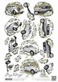 Amy Design knipvel Wedding Cars CD11050
