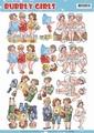 Yvonne Creations knipvel Bubbly Girls Having Fun CD11158 per vel
