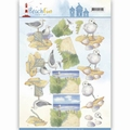 Jeanine's Art Knipvel Beach Fun - Seagulls CD11068