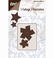 Joy Crafts Snijmal Vintage Flourishes Vouwstera 6003/0088 per stuk