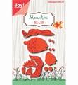 Joy Crafts Snijmal Mon Ami - Goudvis 6002/1147 per stuk