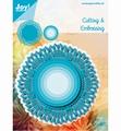 Joy Crafts Snijmal Kantrand Cirkel 6002/1141 per stuk