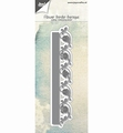 Joy Crafts Snijmal Bloemenrand Barok 6002/1124 per stuk