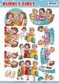 Yvonne Creations knipvel Bubbly Girls Party CD11145 per vel