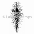Lavinia Clear Stamp Indian Flourish LAV495 per stuk