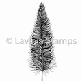 Lavinia Clear Stamp Feather LAV494 per stuk
