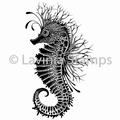 Lavinia Clear Stamp Seahorse LAV496 per stuk